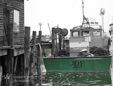 Trap Net Boat Joy, Offloading Nets