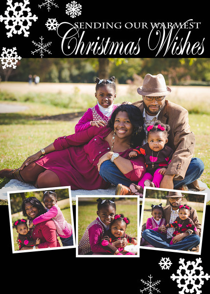 Holiday Wishes Card Front