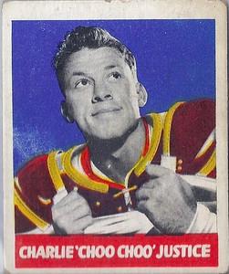 Charlie Justice 1948 Leaf