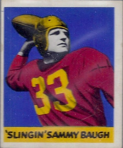 Sammy Baugh #34A 1948 Leaf