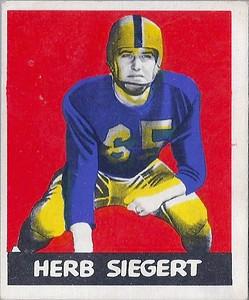 Herb Siegert 1948 Leaf