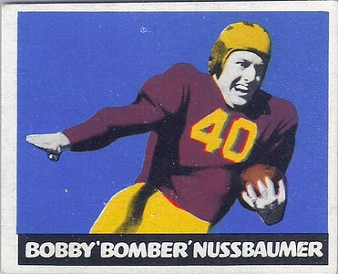Bobby Nussbaumer 1948 Leaf