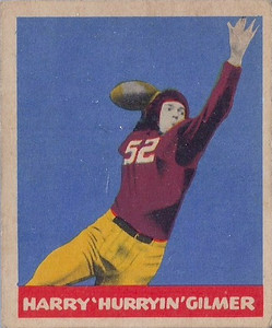 Harry Gilmer 1949 Leaf