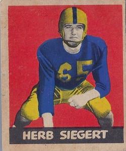 Herb Siegert 1949 Leaf