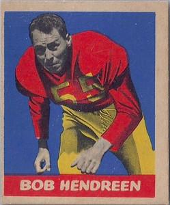 Bob Hendreen 1949 Leaf