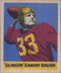 Sammy Baugh 1949 Leaf