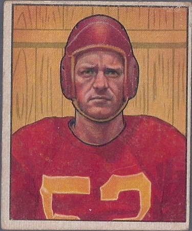 Harry Gilmer 1950 Bowman