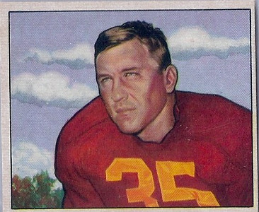 Bill Dudley 1950 Bowman