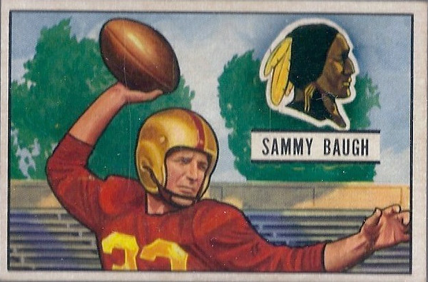 Sammy Baugh 1951 Bowman
