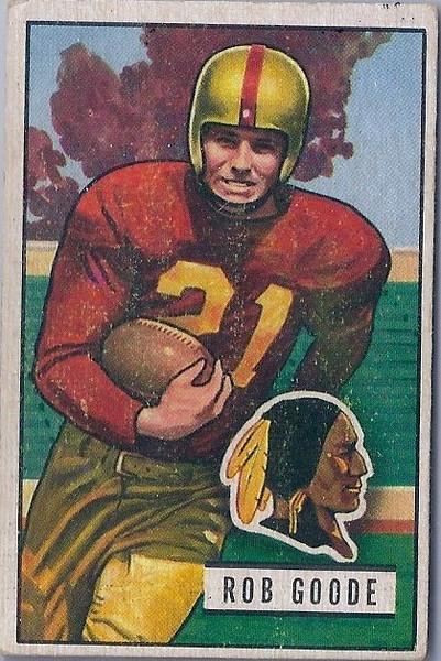 Rob Goode 1951 Bowman