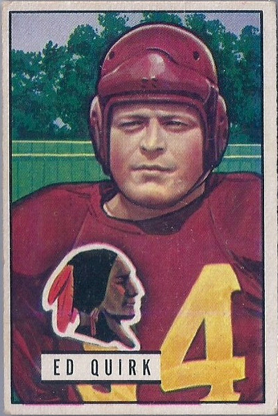 Ed Quirk 1951 Bowman