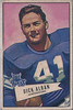 Dick Alban 1952 Bowman Large