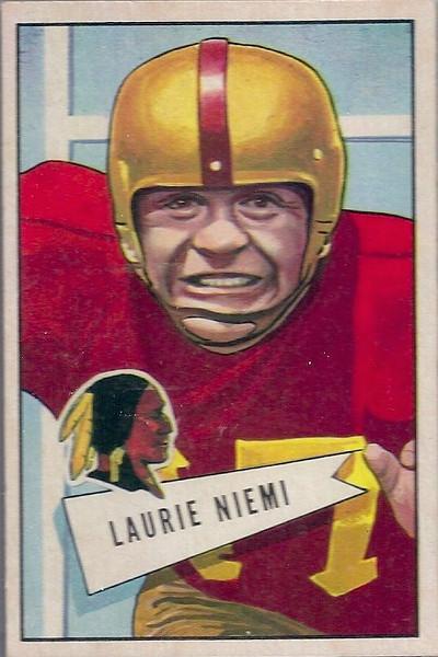 Laurie Niemi 1952 Bowman Large
