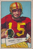 Johnny Papit 1952 Bowman Large