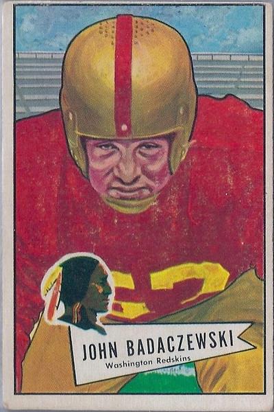 John Badaczewski 1952 Bowman Large