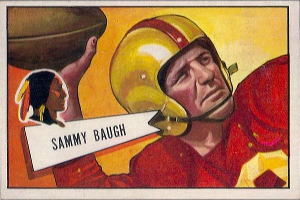 Sammy Baugh 1952 Bowman Large