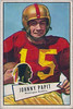 Johnny Papit 1952 Bowman Small