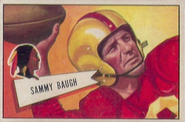 Sammy Baugh 1952 Bowman Small