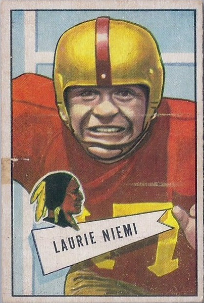 Laurie Niemi 1952 Bowman Small