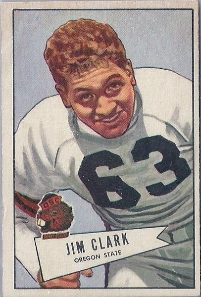 Jim Clark 1952 Bowman Small