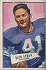 Dick Alban 1952 Bowman Small