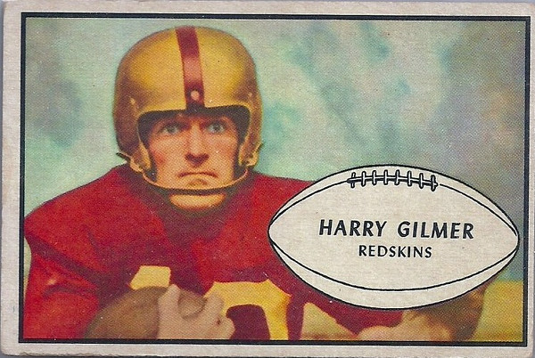 Harry Gilmer 1953 Bowman