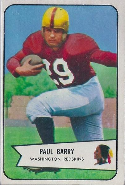 Paul Barry 1954 Bowman