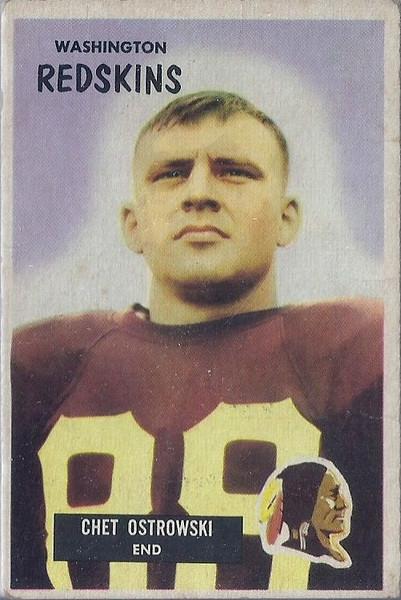 Chet Ostrowski 1955 Bowman