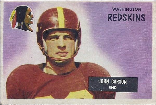John Carson 1955 Bowman