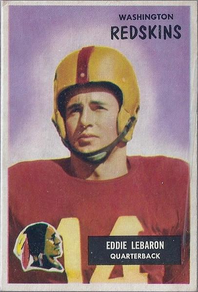 Eddie LeBaron 1955 Bowman