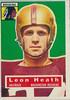 Leon Heath 1956 Topps