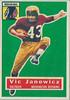 Vic Janowicz 1956 Topps
