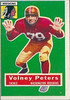 Volney Peters 1956 Topps