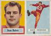 Sam Baker 1957 Topps