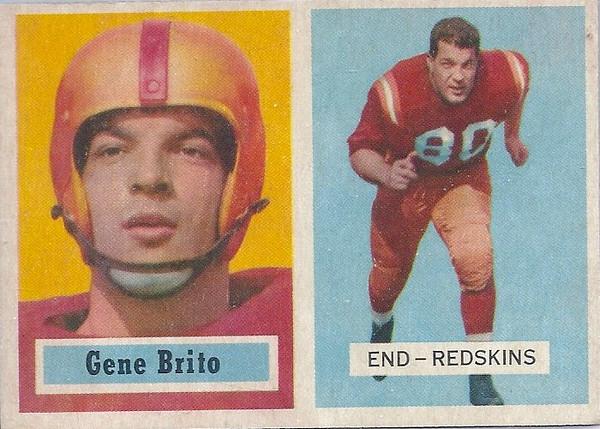 Gene Brito 1957 Topps