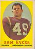 Sam Baker 1958 Topps