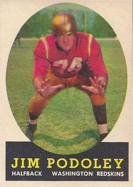 Jim Podoley 1958 Topps