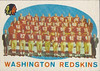 Redskins Team Card 1959 Topps