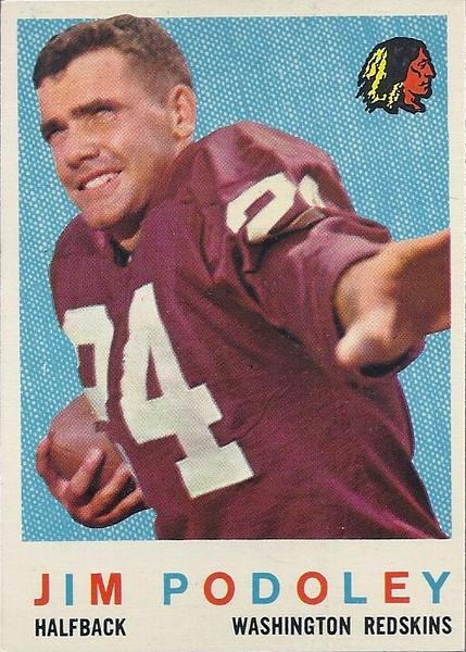Jim Podoley 1959 Topps