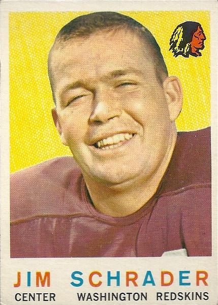 Jim Schrader 1959 Topps