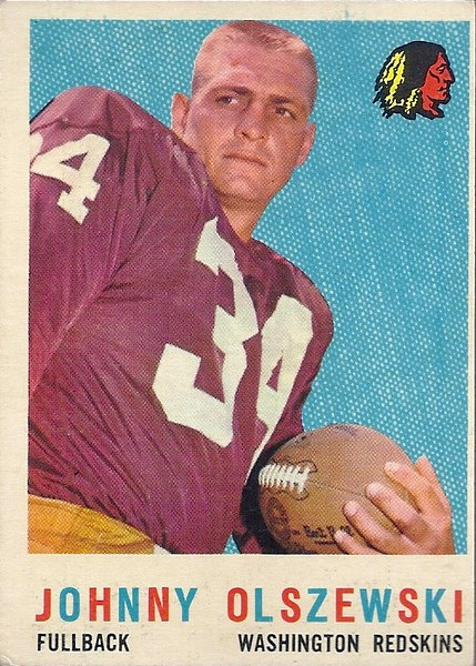 Johnny Olszewski 1959 Topps