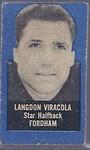 """Langdon """"Zip"""" Viracola 1950 Topps Feltbacks"""