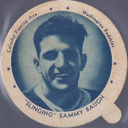 Sammy Baugh 1938 Dixie Lids Large