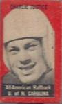 Charlie Justice 1950 Topps Feltbacks