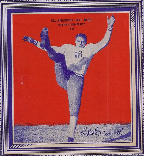 Dixie Howell 1935 Wheaties All-American