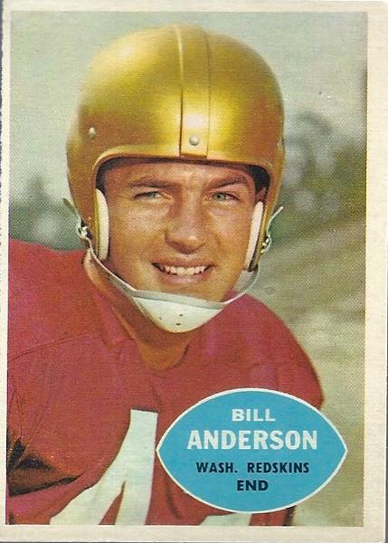 Bill Anderson 1960 Topps