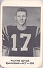 Wayne Sevier 1962 San Diego State College Aztecs Football Schedules