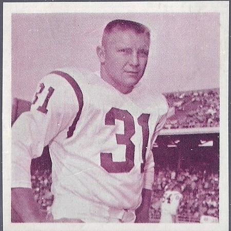 Don Bosseler 1961 Fleer Wallet Photos
