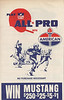 1966 Amoco Game Sheet Front Cover