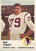Bob Toneff 1961 Fleer
